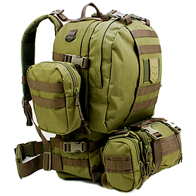 Фото 2 к товару Рюкзак тактический VVV Gear Paratus 3 Day Operator's Pack 47 Olive Drab