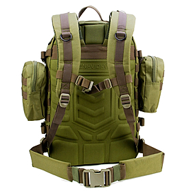 Фото 4 к товару Рюкзак тактический VVV Gear Paratus 3 Day Operator's Pack 47 Olive Drab