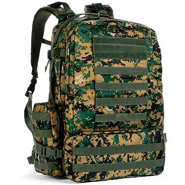Рюкзак тактический Red Rock Diplomat 52 Woodland Digital