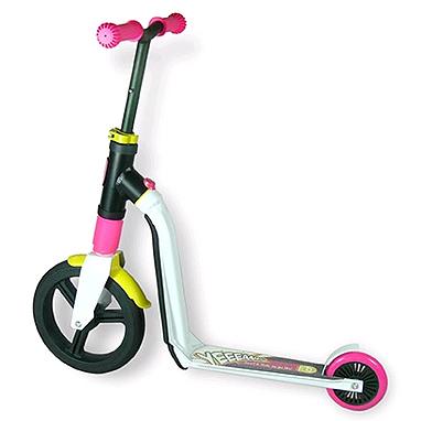 Самокат-трансформер Scoot&Ride Highwayfreak бело-розово-желтый