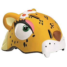 Шлем анимированный Crazy Safety 3D Леопард с фонариком