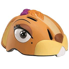 Шлем анимированный Crazy Safety 3D Белка с фонариком