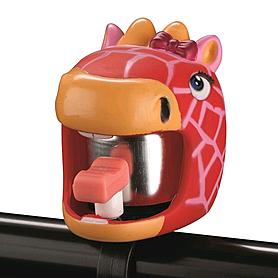 Звонок для детского велосипеда Crazy Safety Жираф