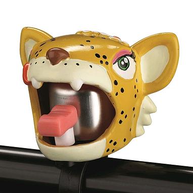 Звонок для детского велосипеда Crazy Safety Леопард
