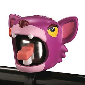Звонок для детского велосипеда Crazy Safety Чеширский кот