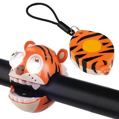 Фонарик на руль Crazy Safety Тигр