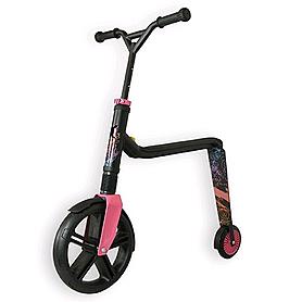 Самокат-трансформер Scoot&Ride Highway Gangster черно-розово-голубой