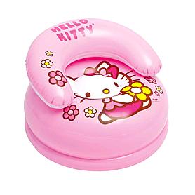 Кресло детское надувное Intex Hello Kitty 48508 (66х42 см) розовое