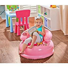 Фото 2 к товару Кресло детское надувное Intex Hello Kitty 48508 (66х42 см) розовое