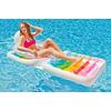 Матрас-кресло надувное пляжное Intex 58847 (198х94 см) - фото 2