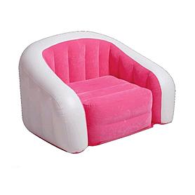 Кресло надувное Intex 68571NP (97х76х69 см) розовое