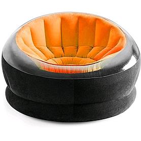 Кресло надувное Intex 68582 (112х109х69 см) оранжевое