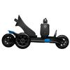 Коньки роликовые Cardiff Skate S2 черно-синиe - фото 4