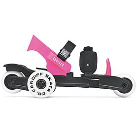 Коньки роликовые Cardiff Cruiser Youth черно-розовый