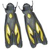 Ласты с открытой пяткой Dorfin ZP-453 желтые, размер - S-M(38-41) - фото 1