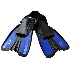 Фото 1 к товару Ласты с открытой пяткой Dorfin Seals F16 синие, размер - S(34-38)