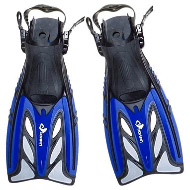 Ласты с открытой пяткой Dorfin ZP-441 синие, размер - L-XL(42-45)