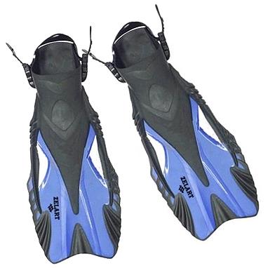 Ласты с открытой пяткой Dorfin ZP-445 синие, размер - L-XL(42-45)