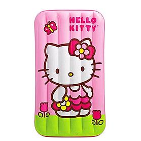 Матрас надувной детский Hello Kitty Intex 48775 (88х157х18 см)