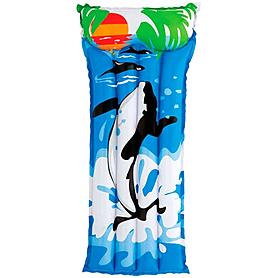 """Матрас надувной пляжный """"Касатка"""" Intex 58715 (183x76 см)"""