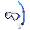 Набор для плавания Dorfin (ZLT) (маска+трубка) синий - фото 1