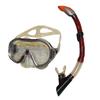 Набор для плавания Dorfin (ZLT) (маска+трубка) красный ZP-26542-PVC-R - фото 1