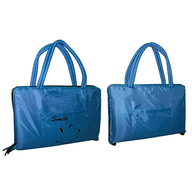 Cумка-коврик пляжная 2 в 1 Dorfin (ZLT) синяя
