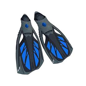 Фото 1 к товару Ласты с закрытой пяткой Dorfin (ZLT) синие, размер - 38-39 PL-444-BL-38-39