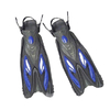 Ласты с открытой пяткой Dorfin (ZLT) синие, размер 38-41 - фото 1