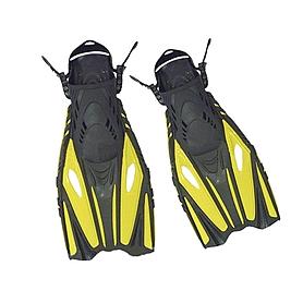Ласты с открытой пяткой Dorfin (ZLT) желтые, размер - 42-45 PL-451-Y-42-45