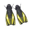 Ласты с открытой пяткой Dorfin (ZLT) желтые, размер - 42-45 PL-451-Y-42-45 - фото 1