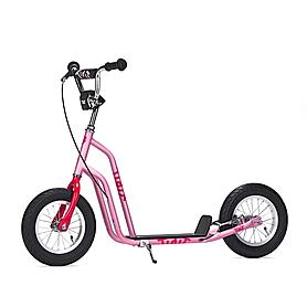 Фото 2 к товару Самокат двухколесный Yedoo Tidit розовый