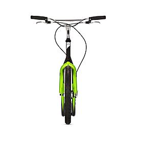 Фото 2 к товару Самокат двухколесный Yedoo Mezeq V-brake черно-зеленый