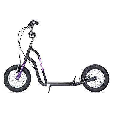 Самокат двухколесный Yedoo Wzoom черно-фиолетовый