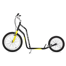Фото 1 к товару Самокат двухколесный Yedoo Mezeq V-brake черно-желтый