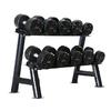 Набор профессиональных гантелей PU 200 кг + стойка ZLT 200 - фото 1