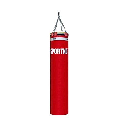 Мешок боксерский Sportko «Элит» MP-00 (ПВХ) 35х140 красный