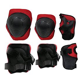 Защита для катания детская (комплект) ZLT красная