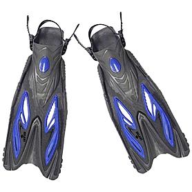 Ласты с открытой пяткой Dorfin ZP-453 синие, размер - L-XL(42-45)