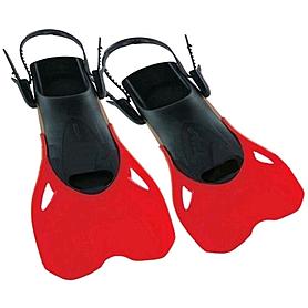 Фото 1 к товару Ласты с открытой пяткой Dorfin PL-480 красные, размер - M-L(38-43)