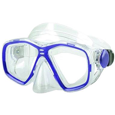 Маска для плавания Dorfin PL-276TPP синяя