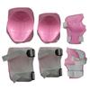 Защита для катания детcкая (комплект) ZLT розовая - фото 1