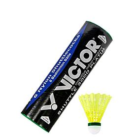 Воланы для бадминтона нейлоновые Victor Nylon Shuttle 3000 Platin (6 шт)