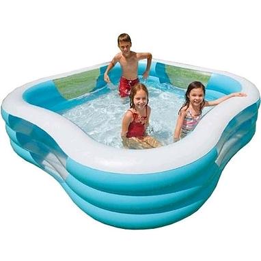 Бассейн надувной детский Intex 57495 (229х229 см)
