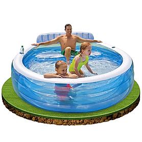 Бассейн надувной детский Intex 57190 (224х216х76 см)