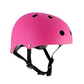 Шлем Stateside Skates fluo pink, размер - S-M (53-56 см)