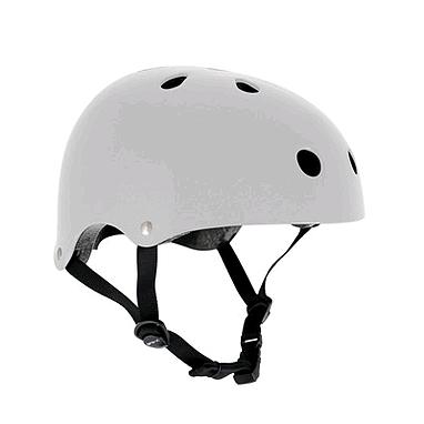 Шлем Stateside Skates white, размер - XXS-XS (49-52 см)