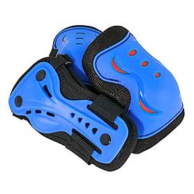 Фото 1 к товару Защита для катания детская (комплект) Stateside Skates SFR синяя, размер - M