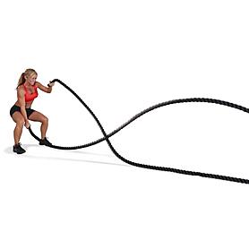 Фото 2 к товару Канат для кроссфита ZLT Crossfit Battle Rope 38 мм (15 м) SRP002