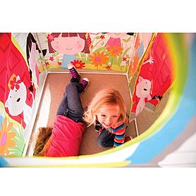 Фото 3 к товару Домик-палатка детский Intex 48621 (122х84х132 см)